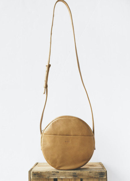 Baggu - Circle Purse in Saddle