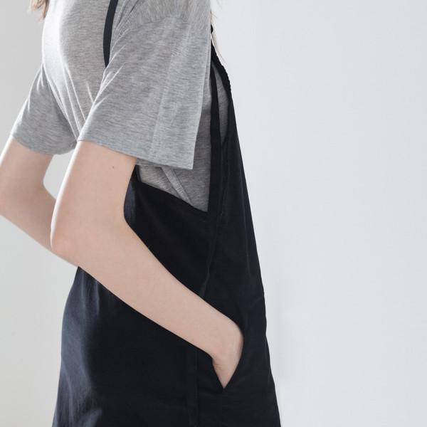 Baserange Overall Dress Fine corduroy