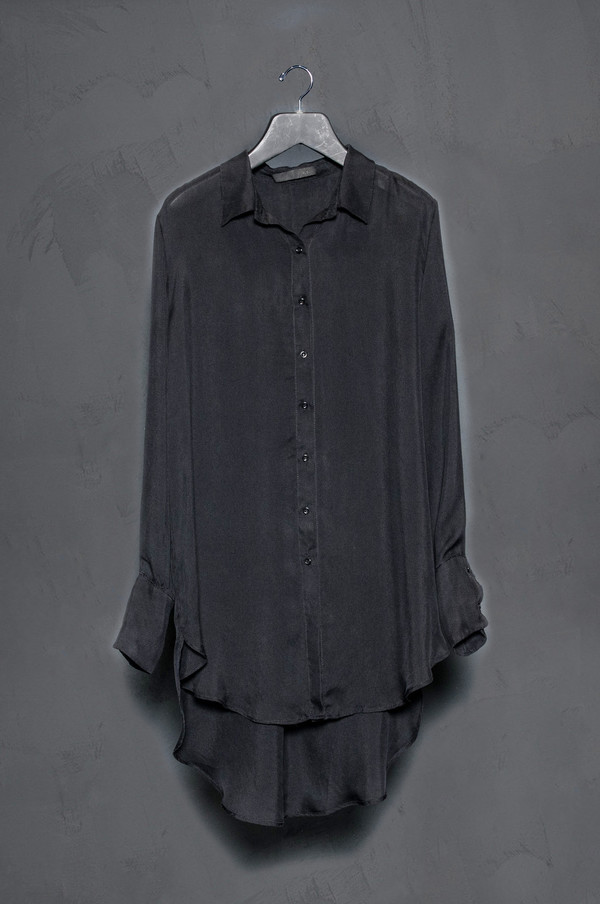 KES Button Up Silk Gauze