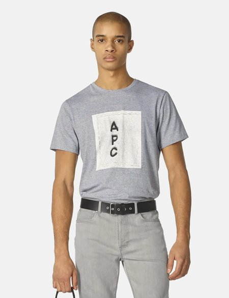 A.P.C. H logo T-Shirt - Grey