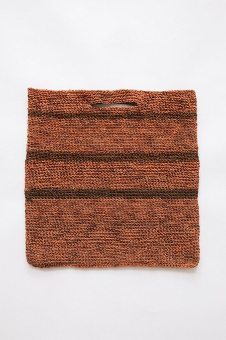 Pampa Litoral Woven Clutch