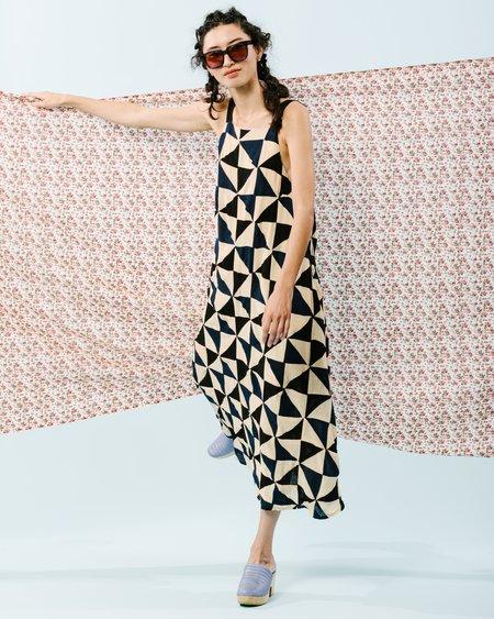 Carleen Picnic Dress - Patchwork