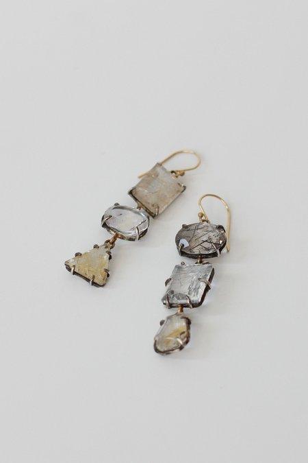Margery Hirschey Rutilated Quartz Earrings