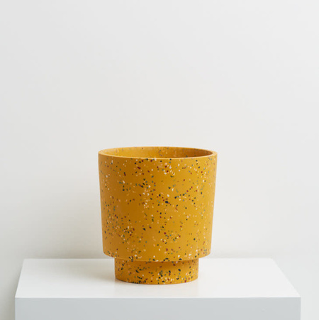 Capra Medium Planter - Golden Terrazzo