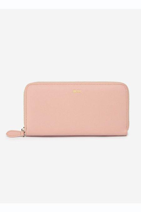 JW PEI Zipper Wallet - Blush