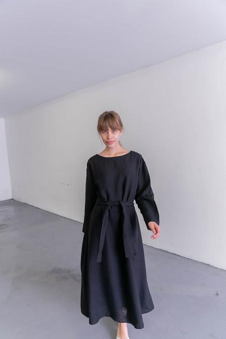 SAMUJI LUCIUS DRESS - BLACK