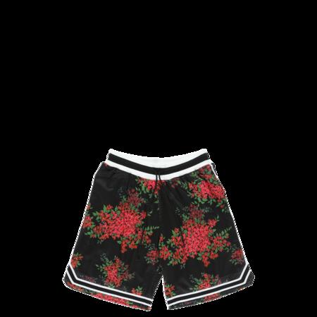 John Elliott Game Shorts - Black Bougainvillea