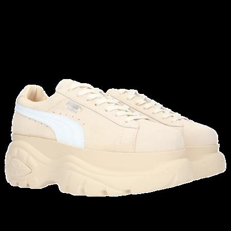 Puma Suede x Buffalo Boots Platform Sneakers - Grey