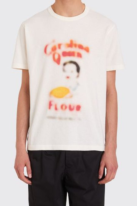 Our Legacy Flour Print New Box T-Shirt - Cream