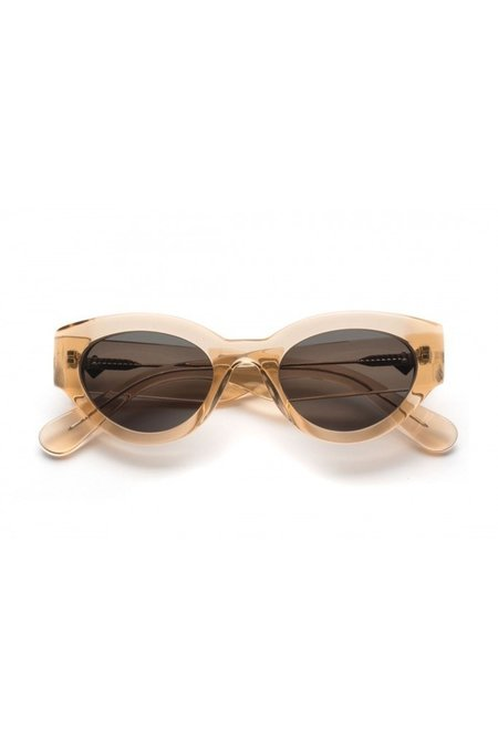 Wonderland Bombay Beach Sunglasses - Clear