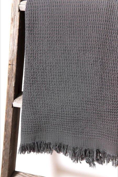 Hamamlique Ella Towel - Anthracite
