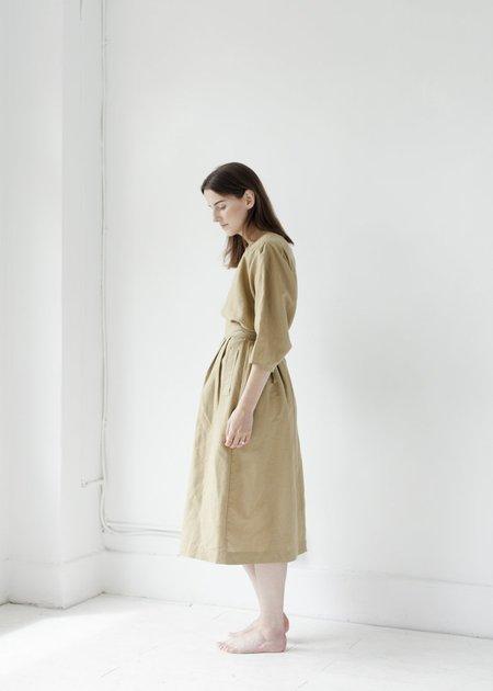 Micaela Greg Ellis Pleated Skirt - Moss