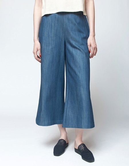 Bishop Collective Cropped Pant - Denim