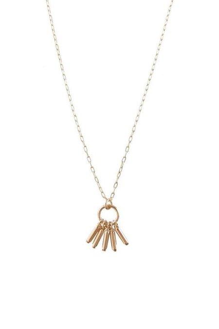 Marida Warrior Necklace - 14K Gold Filled