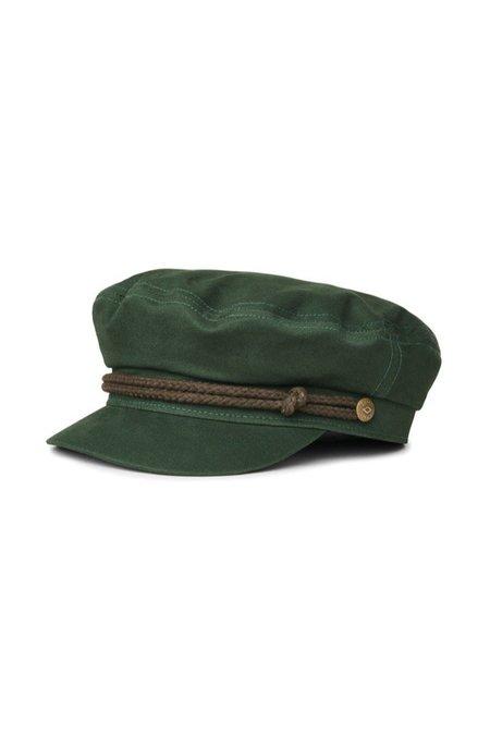 Brixton Hunter Fiddler Cap - Green