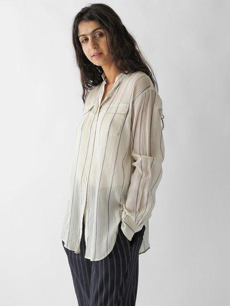 Nico, Nicholson & Nicholson banda shirt - white stripe
