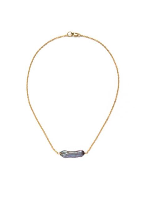 SVNR Sanya Necklace - 14k Gold/Pearl