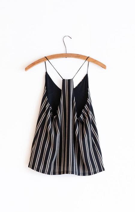 BISHOP & YOUNG Cami - Black Stripe