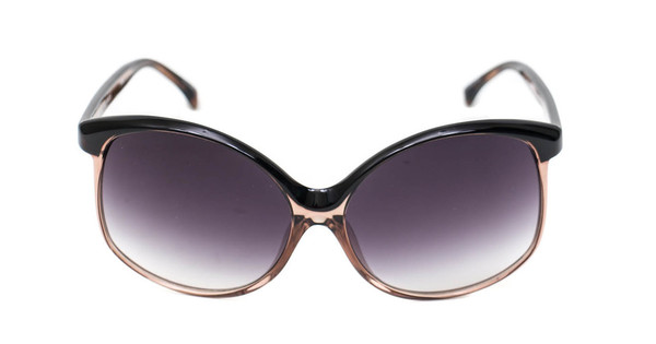 Matthew Williamson X Linda Farrow Two Toned Oversized Sunglasses