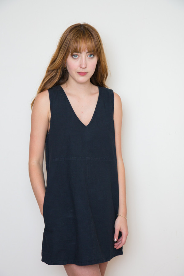 Neuw Alex Mini Shift Dress -Black