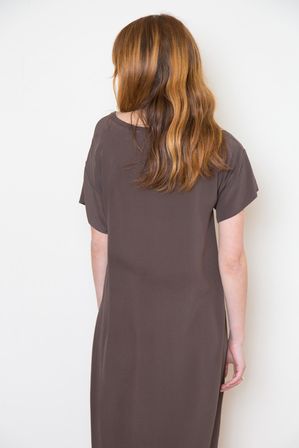 Ottod'ame Silk Midi Dress