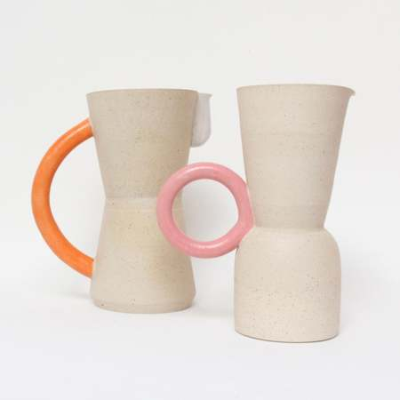Jug by Milo made ceramics