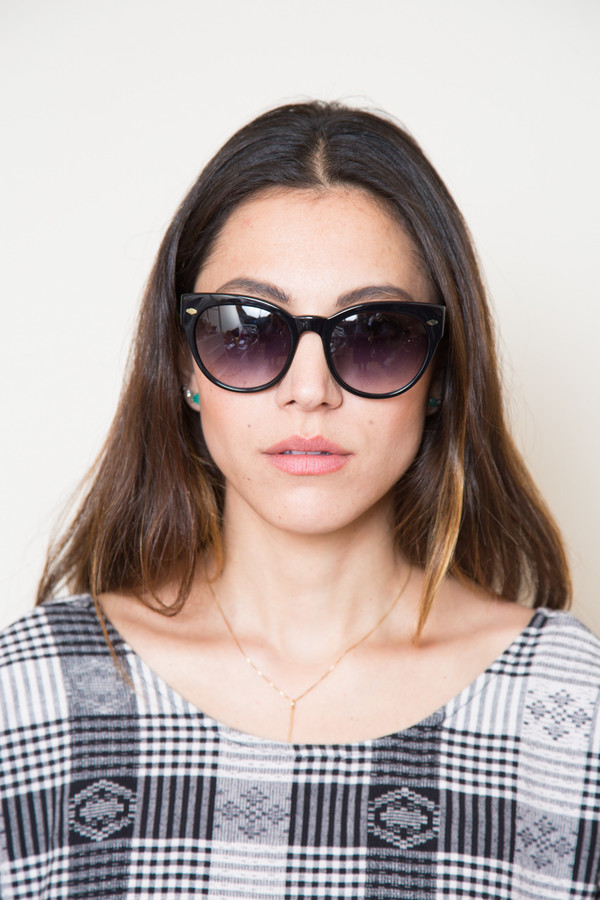 raen maude sunglasses in black
