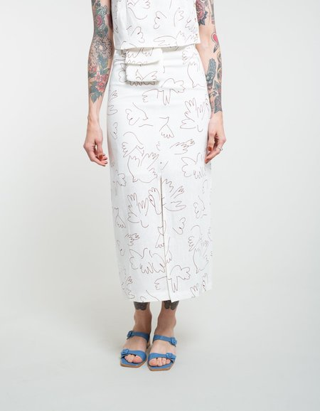 Paloma Wool Genia Skirt - Off White