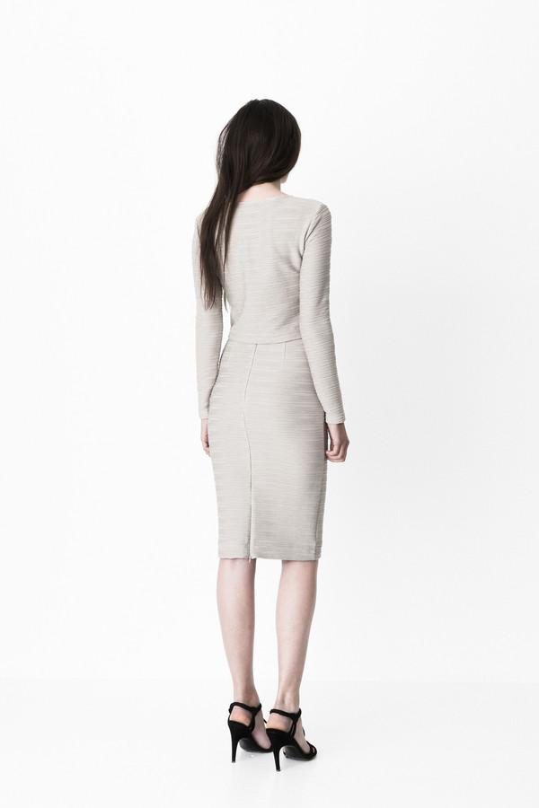 """Storm & Marie """"Mollie"""" Textured Jersey Skirt"""