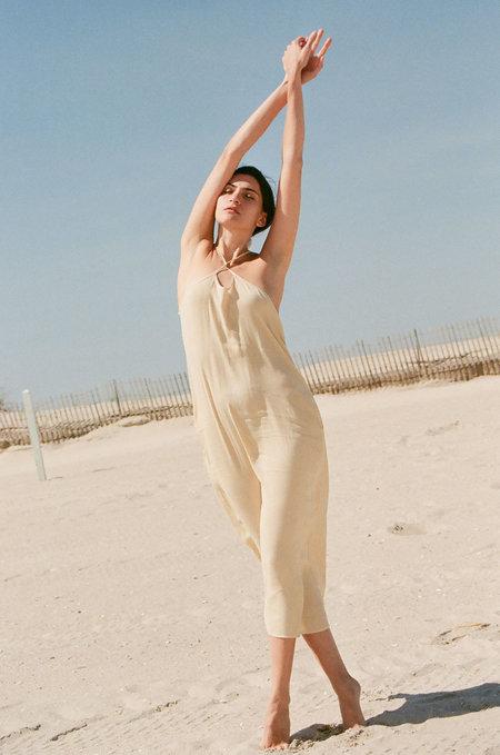 Maryam Nassir Zadeh Blaze Dress - Wafer