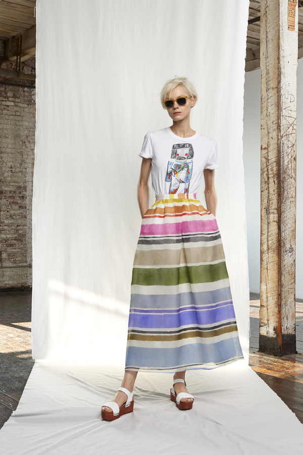 Whit Prism Skirt