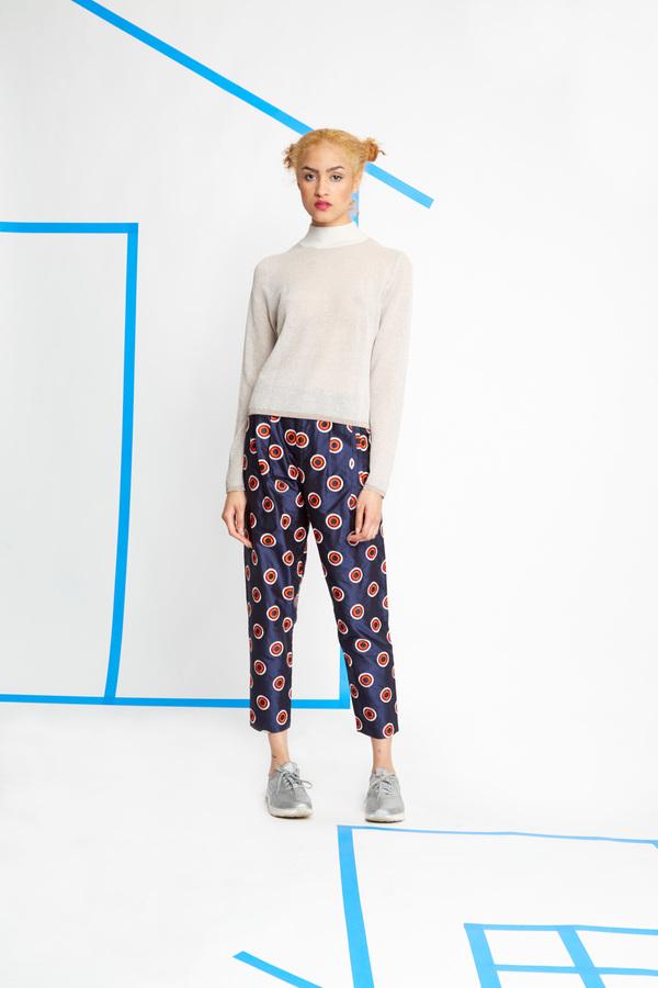 Nikki Chasin Alder Dot Trousers