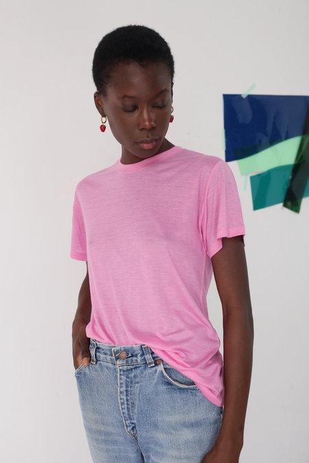 BASERANGE Tee Shirt - Hane Pink