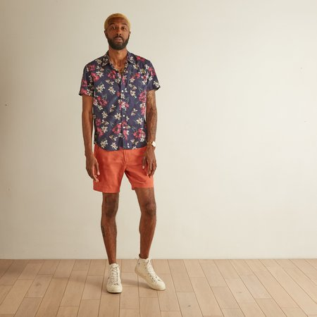 Corridor Linen Shorts - Clay