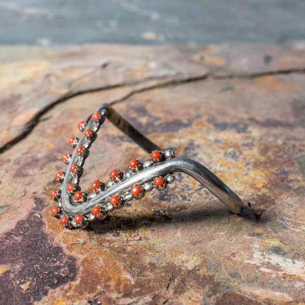 Rider For Life Coral Stone Bracelet