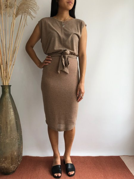 Eve Gravel Amores dress - Fig