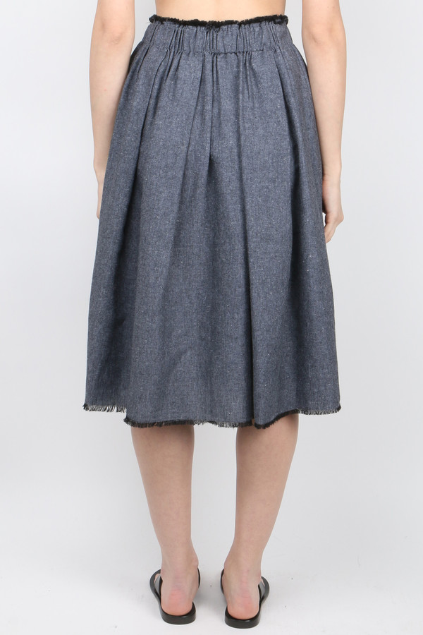 Cathrine Hammel Chambray Skirt