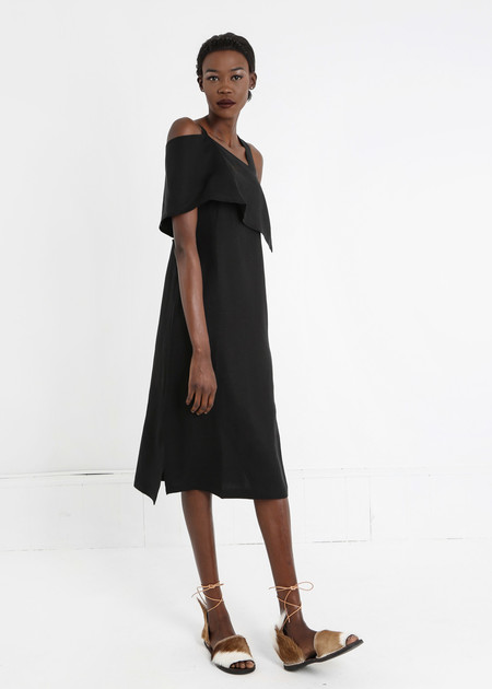 Shaina Mote Roque Dress - black