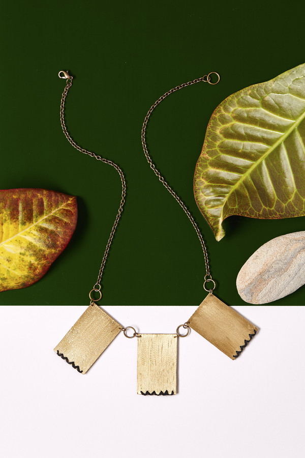 Geography 541 Nakit Collar Necklace
