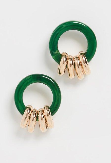 Rachel Comey York Earring - Malachite