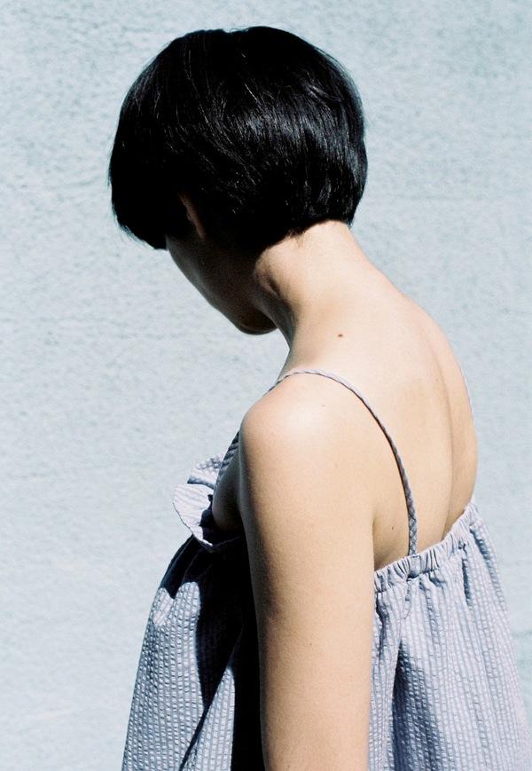 Luisa Et La Luna Laia Top - seersucker stripe