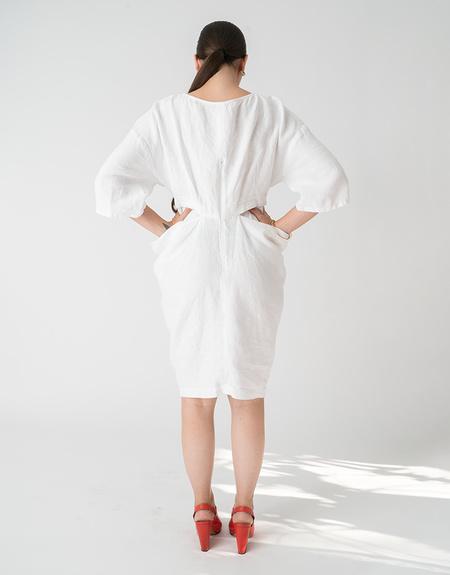 Rachel Comey Scope Dress - White Linen