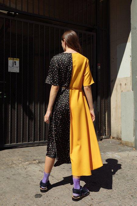 KkCo Wrap Dress - Mixed Media