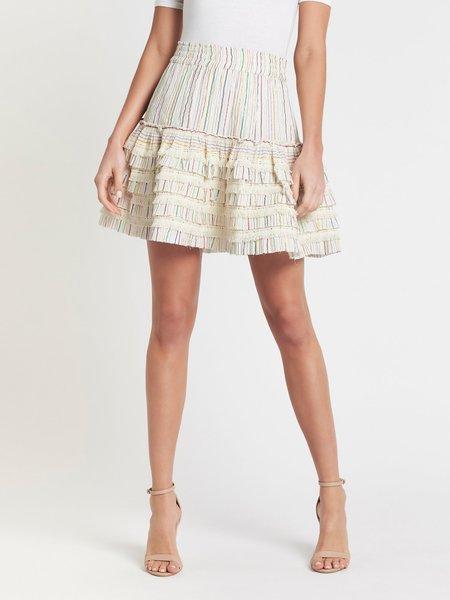 Misa Los Angeles Morya Skirt - IVORY