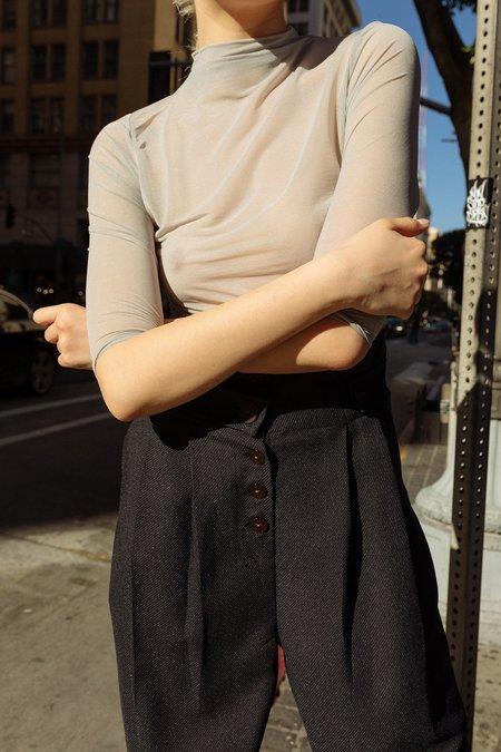 KkCo Studio Transparent Knit - Flax