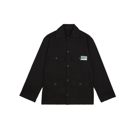 Earl's Apparel Four Pocket Fatigue Jacket - Black