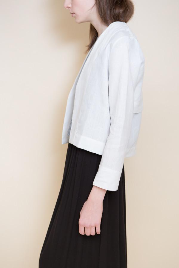 Ali Golden Linen Jacket