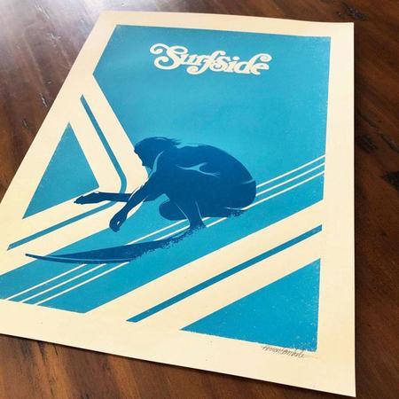 Rockswell Surfside Poster - No frame