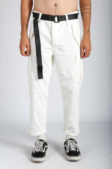 Ksubi RAWS CARGO PANT - White