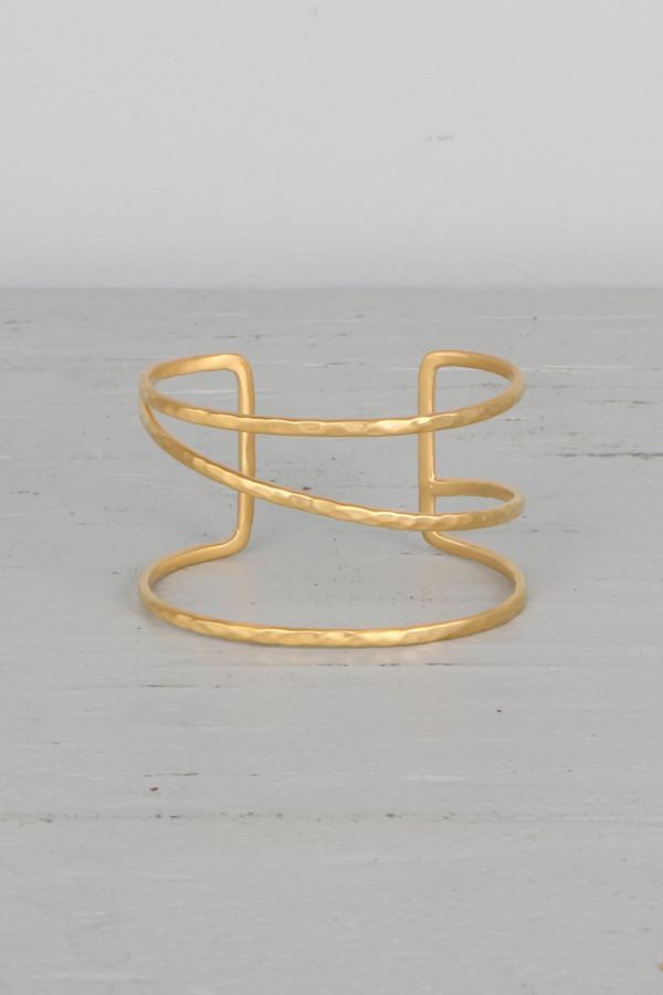 Mickey Lynn ML7137 Gold Bracelet